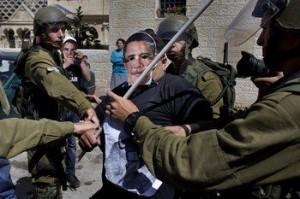 Ilustrační foto k protestu v Hebronu, 20. března 2013. (Foto viz facebook)