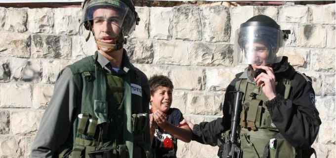 10 yr old child arrested in Silwan EJ on 21 Jan 2011_Awad Awad photo_cropped