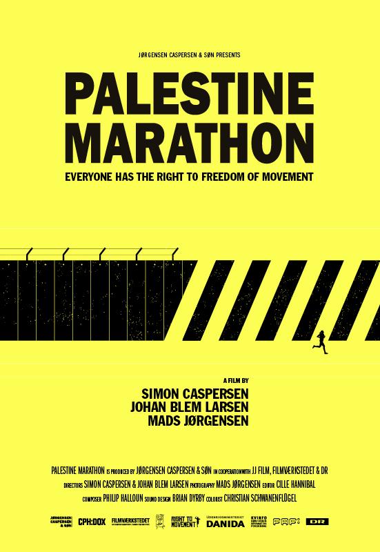 palestine marathon poster