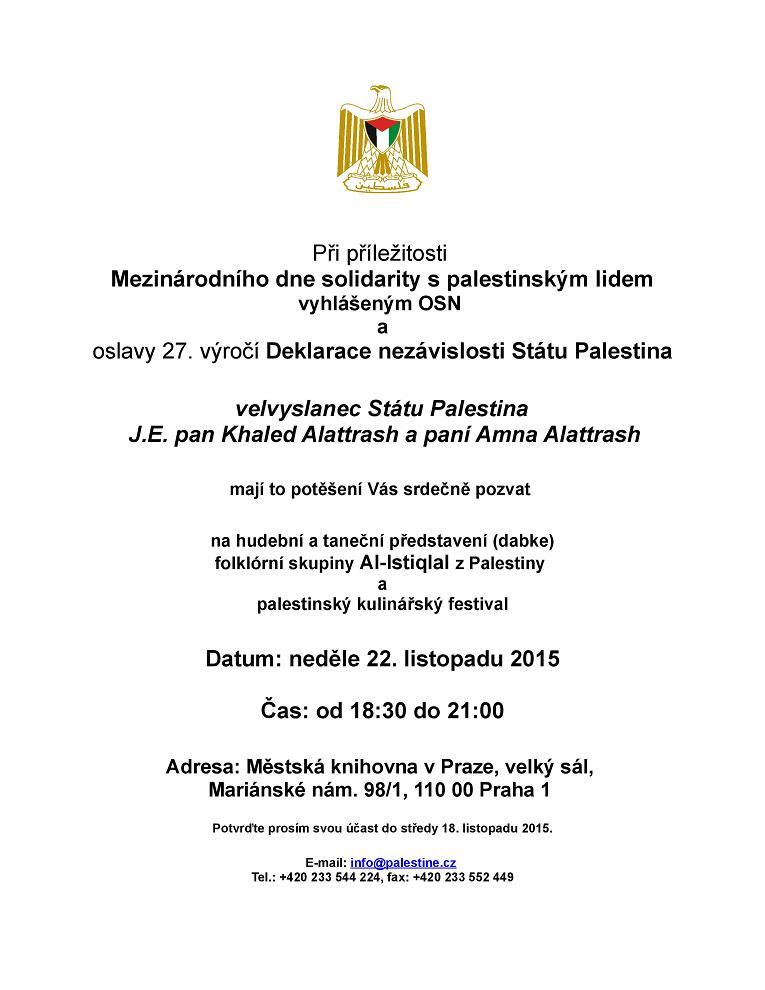 Pozvánka_Mezinárodní den solidarity s palestinským lidem_Praha 2015_small