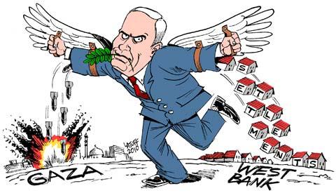 Carlos Latuff: Izraelský mírový plán