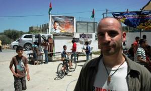 Ronnie Barkan v Bilinu, foto Karl Schembri