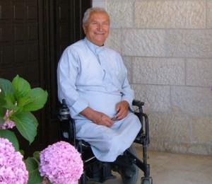 Bassam Shakaa před svým domem v Nábulusu