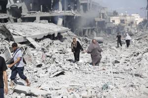 gaza rubbles2