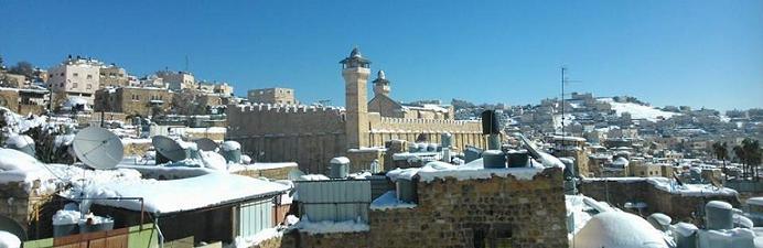 Hebron zima 2013